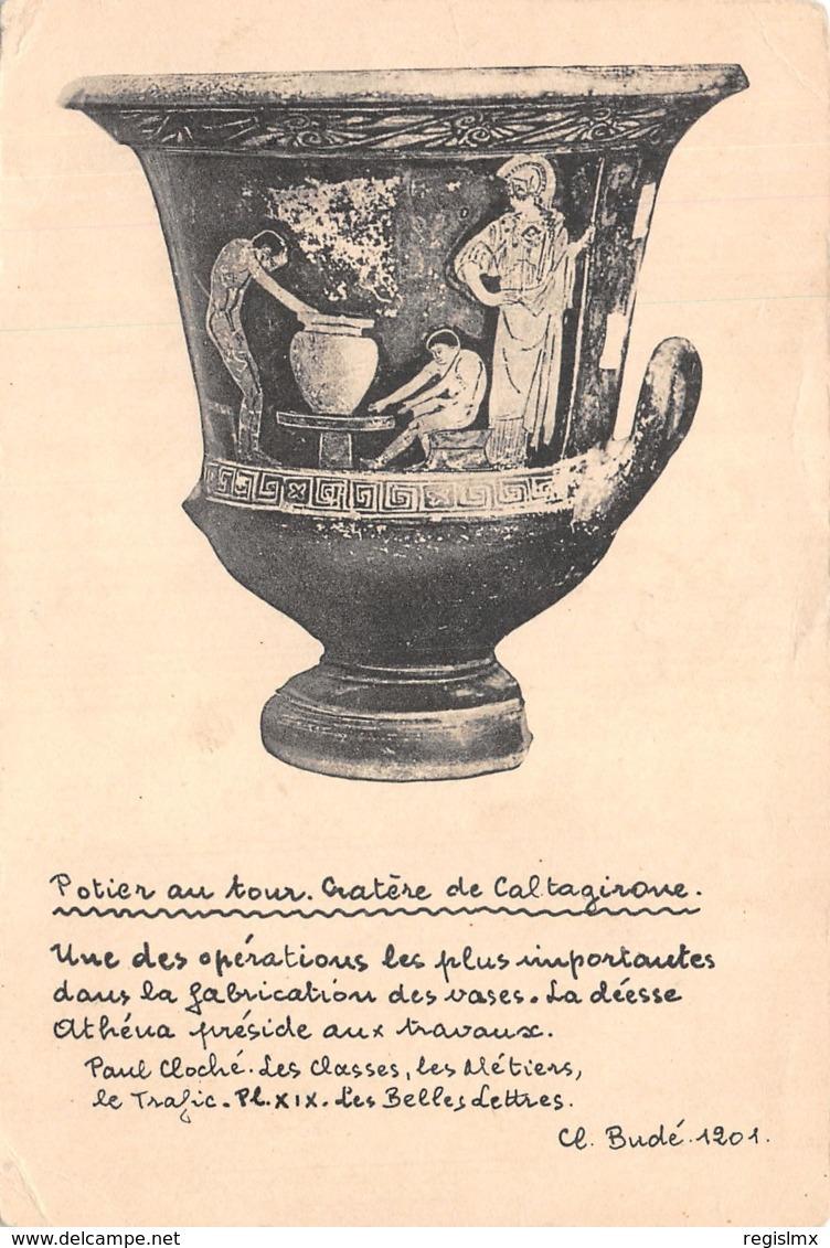 ET-GRECE CRATERE DE CALTAGIRONE-N°T1108-D/0383 - Greece