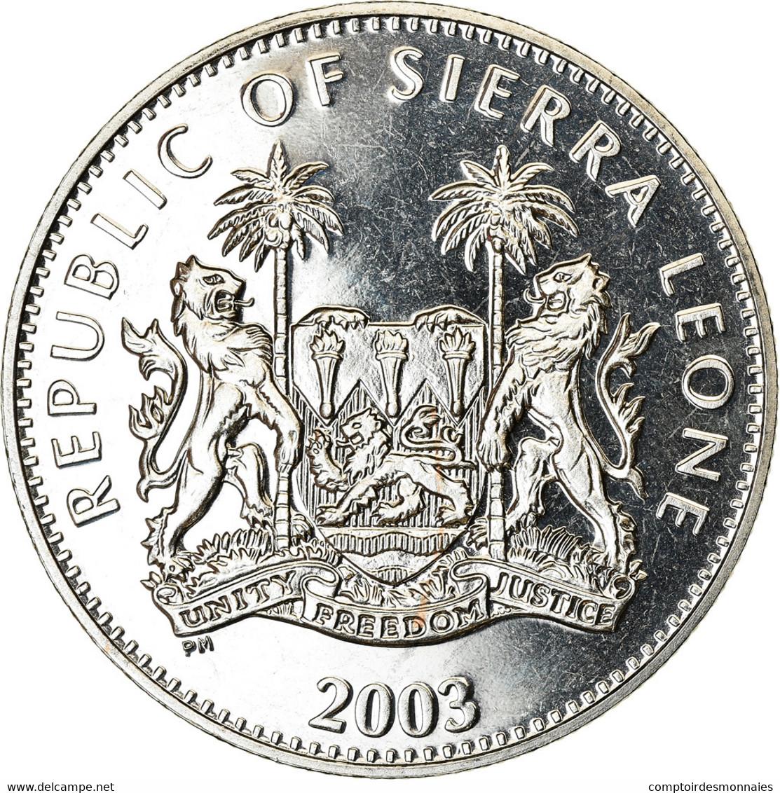 Monnaie, Sierra Leone, Dollar, 2003, British Royal Mint, Jeux Olympiques - Sierra Leone