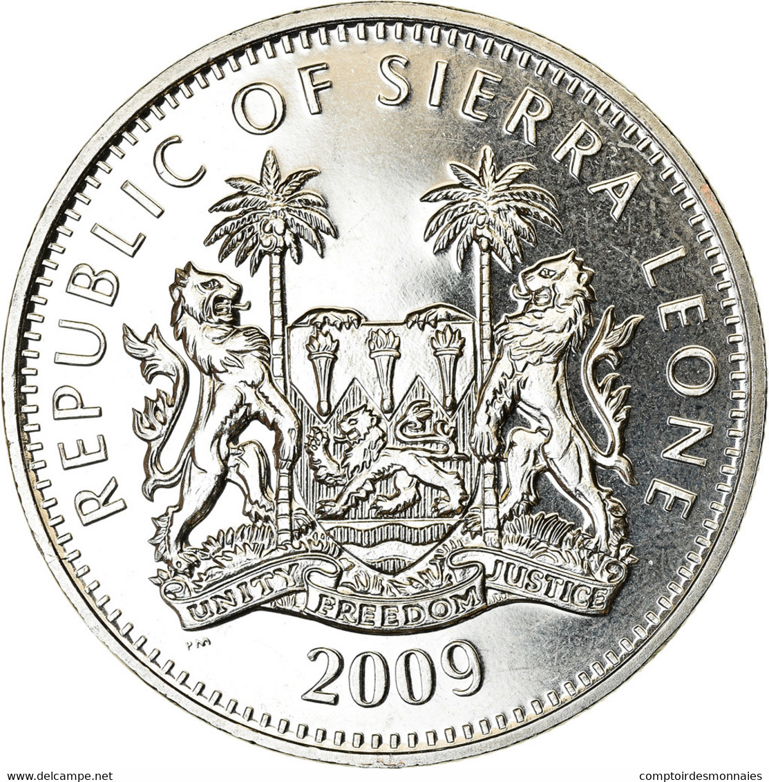 Monnaie, Sierra Leone, Dollar, 2009, British Royal Mint, Jeux Olympiques De - Sierra Leone