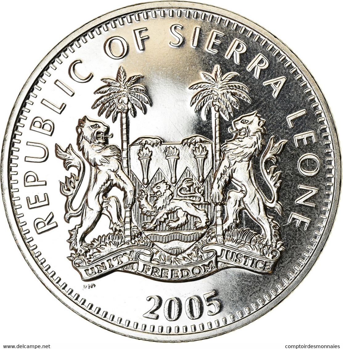 Monnaie, Sierra Leone, Dollar, 2005, British Royal Mint, Bataille D'Angleterre - Sierra Leone