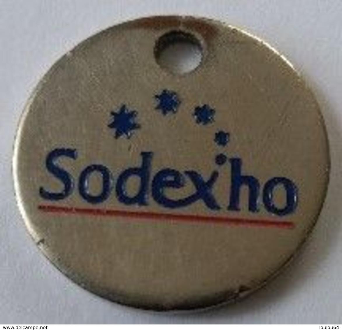 Jeton De Caddie - SODEXHO - Restaurant D'entreprises - En Métal - - Jetons De Caddies