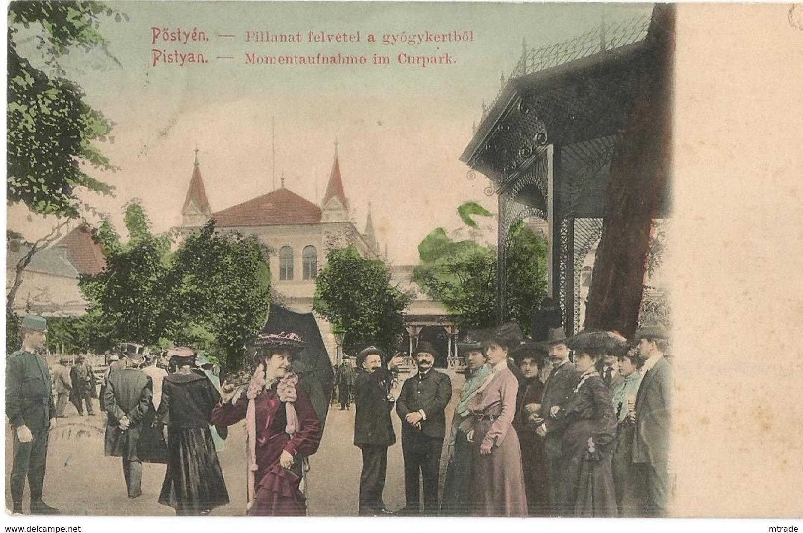 SLOVAKIA, PISTYAN - Slowakei