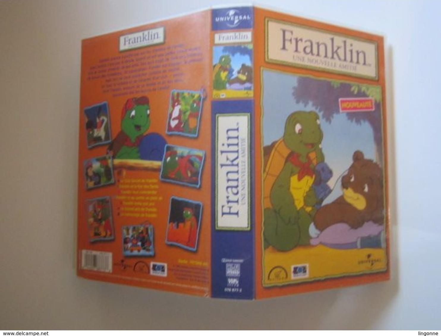 1999 CASSETTE VIDEO VHS  FRANKLIN UNE NOUVELLE AMITIE (jaquette Abimée) - Dessins Animés