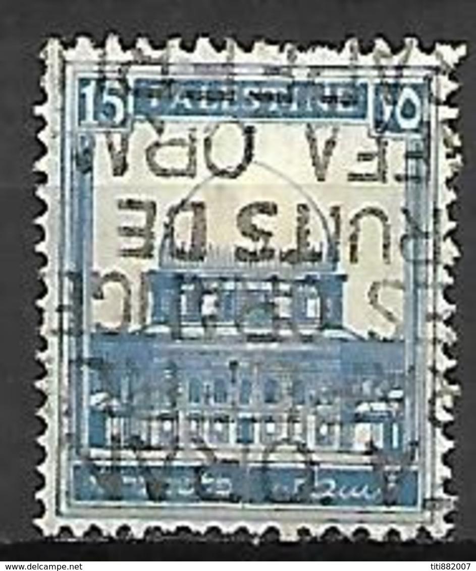 PALESTINE     -    1927 .  Y&T N° 73 Oblitéré. - Palestine