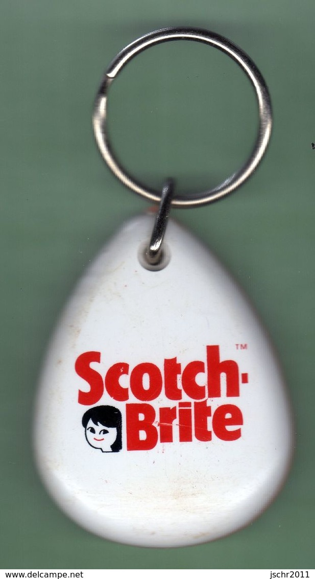 1 Jeton De Caddie *** SCOTCH BRITE *** C81 - Jetons De Caddies