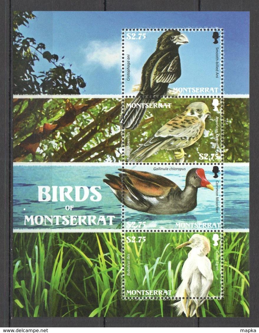 A009 MONTSERRAT BIRDS OF MONTSERRAT FAUNA 1KB MNH - Otros