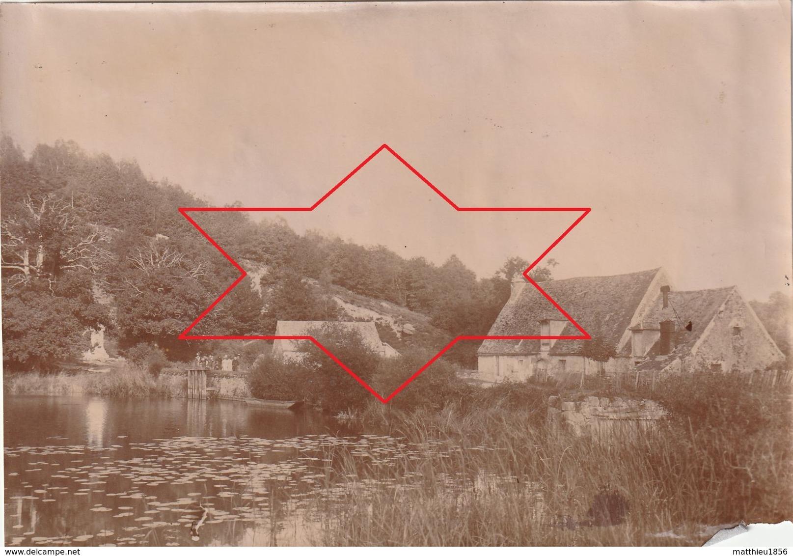 Photo 1897 VAUX-DE-CERNAY (Auffargis, Cernay-la-Ville) - Etang Du Grand Moulin (A223) - Vaux De Cernay