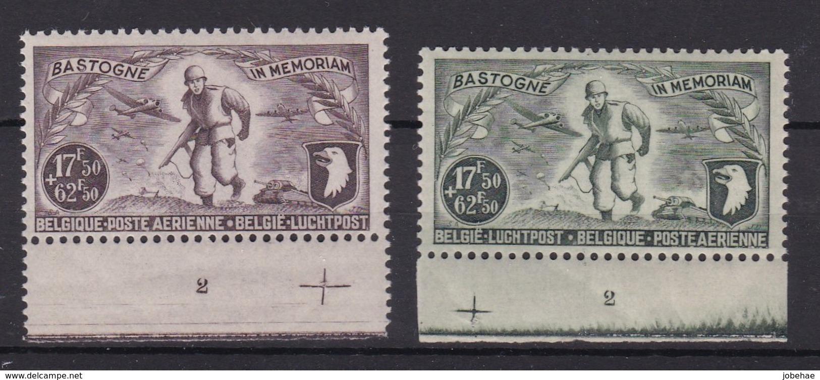 Belgie Plaatnr  Luchtpost YT** 12-13 - ....-1960