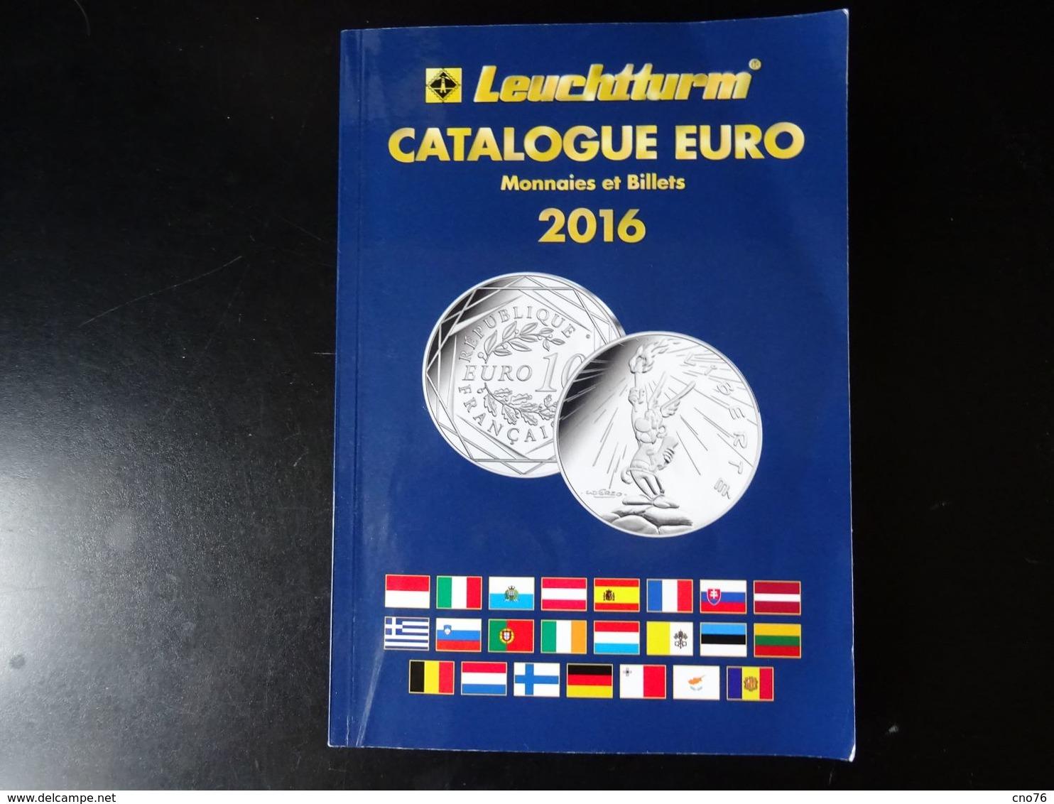 Catalogue Euro 2016 Pièces Et Billets - Libri & Software