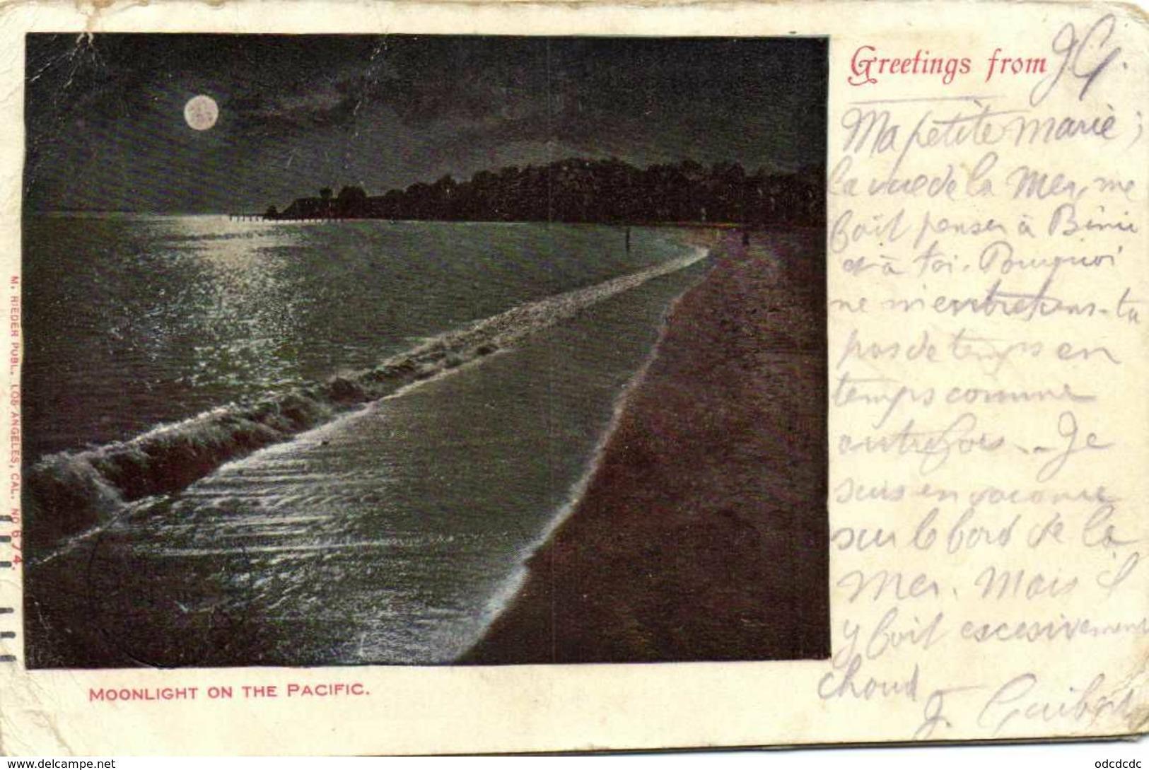 BON LOT 100  CPA  ETATS UNIS  (Toutes Scanées) - 100 - 499 Postkaarten