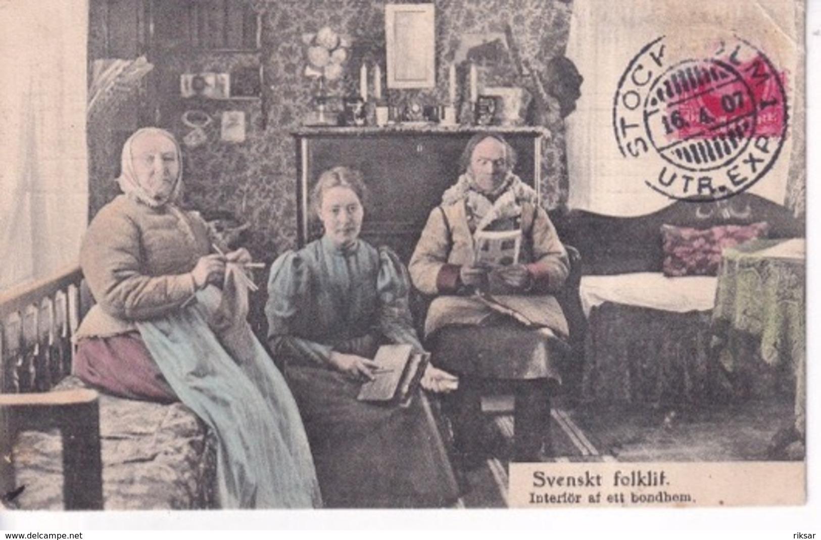 SUEDE(TYPE) SVENSK FOLKLIF - Zweden