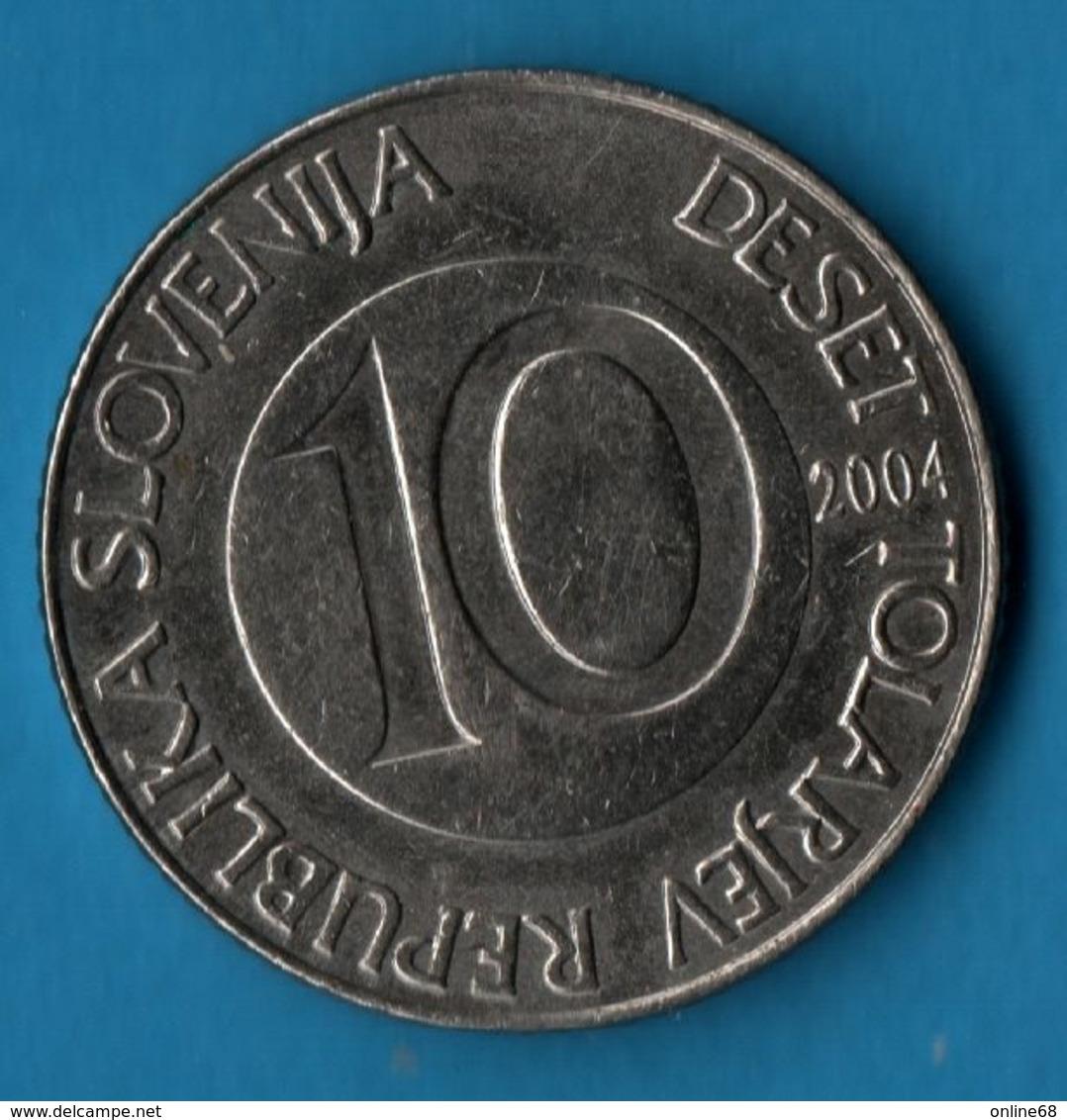 SLOVENIA 10 TOLARJEV 2004   KM# 41 EQUUS - Slovenia