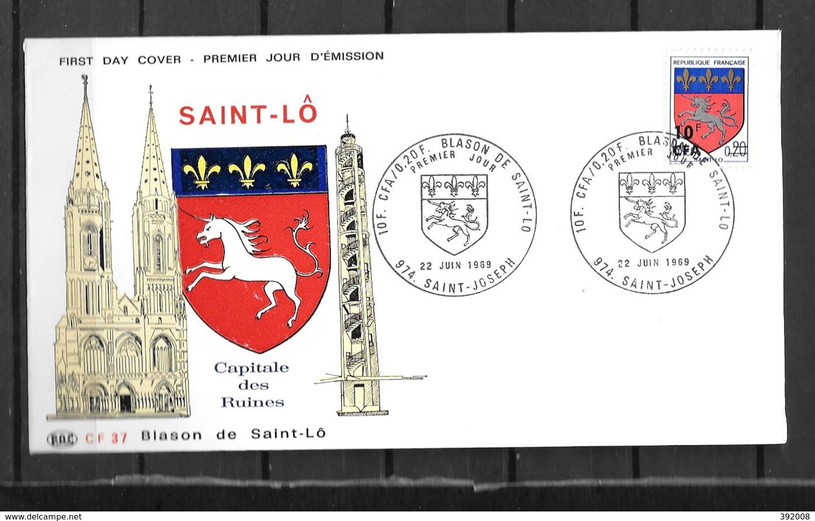 1969 - 5 - 386 - St Lo - Brieven En Documenten