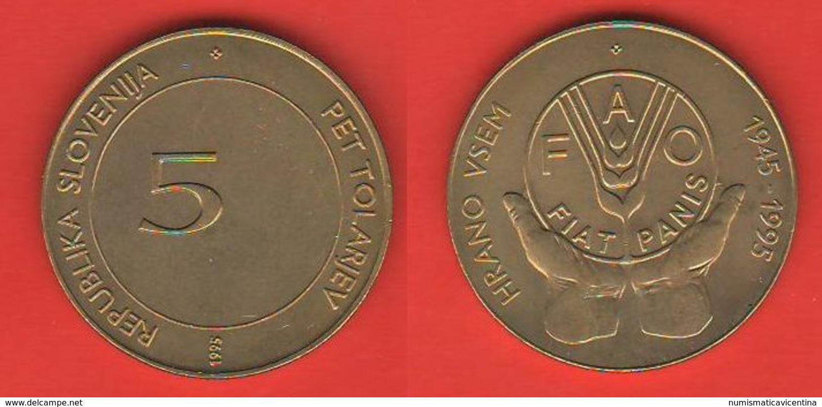 Slovenia 5 Talleri 1995 FAO - Slovenia