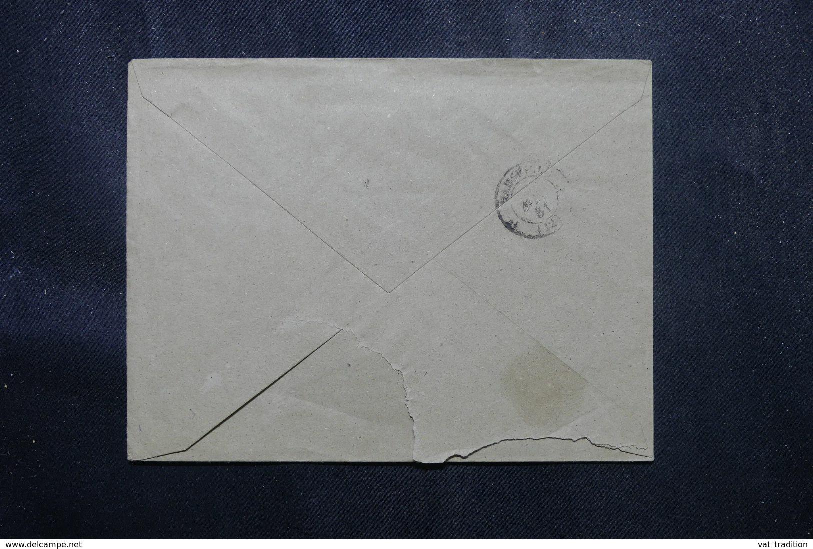 ESPAGNE - Enveloppe De Barcelone Pour La France En 1881 - L 70183 - Storia Postale