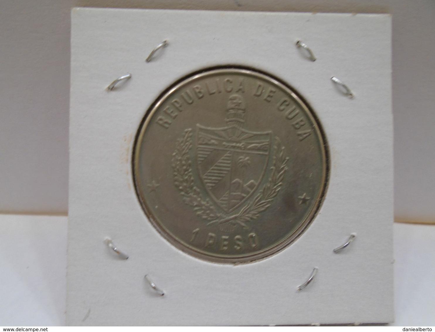 """Cuba, Un Peso 1987, """"GUERRILLERO HEROICO ERNESTO CHE GUEVARA """", UNC, MINT. Gracias Por Visitar Mi Pagina. - Cuba"""