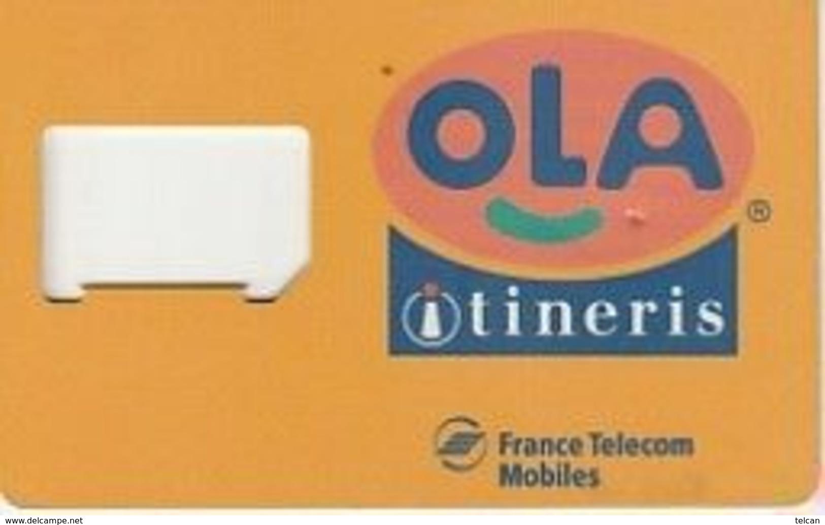 OLA Itineris - Nachladekarten (Handy/SIM)