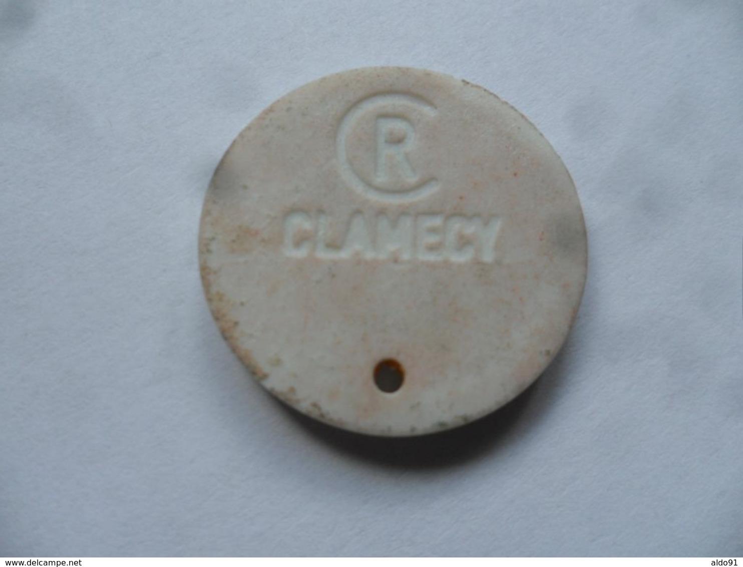 Fève CLAMECY (CR), Série Alphabet -  F (Comme Fillette)...........voir Scans - Other