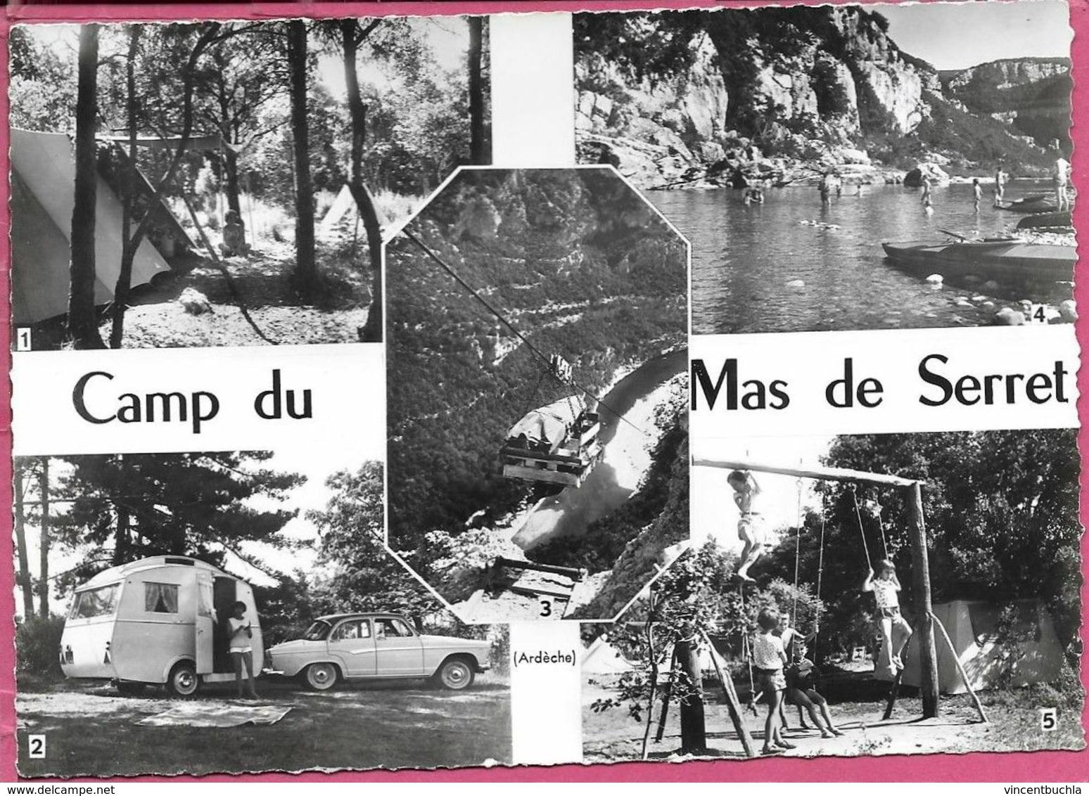 Camp Du Mas De Serret Saint Paul Le Jeune Multivues Télébenne Plage Jeux Parfait état - Other Municipalities