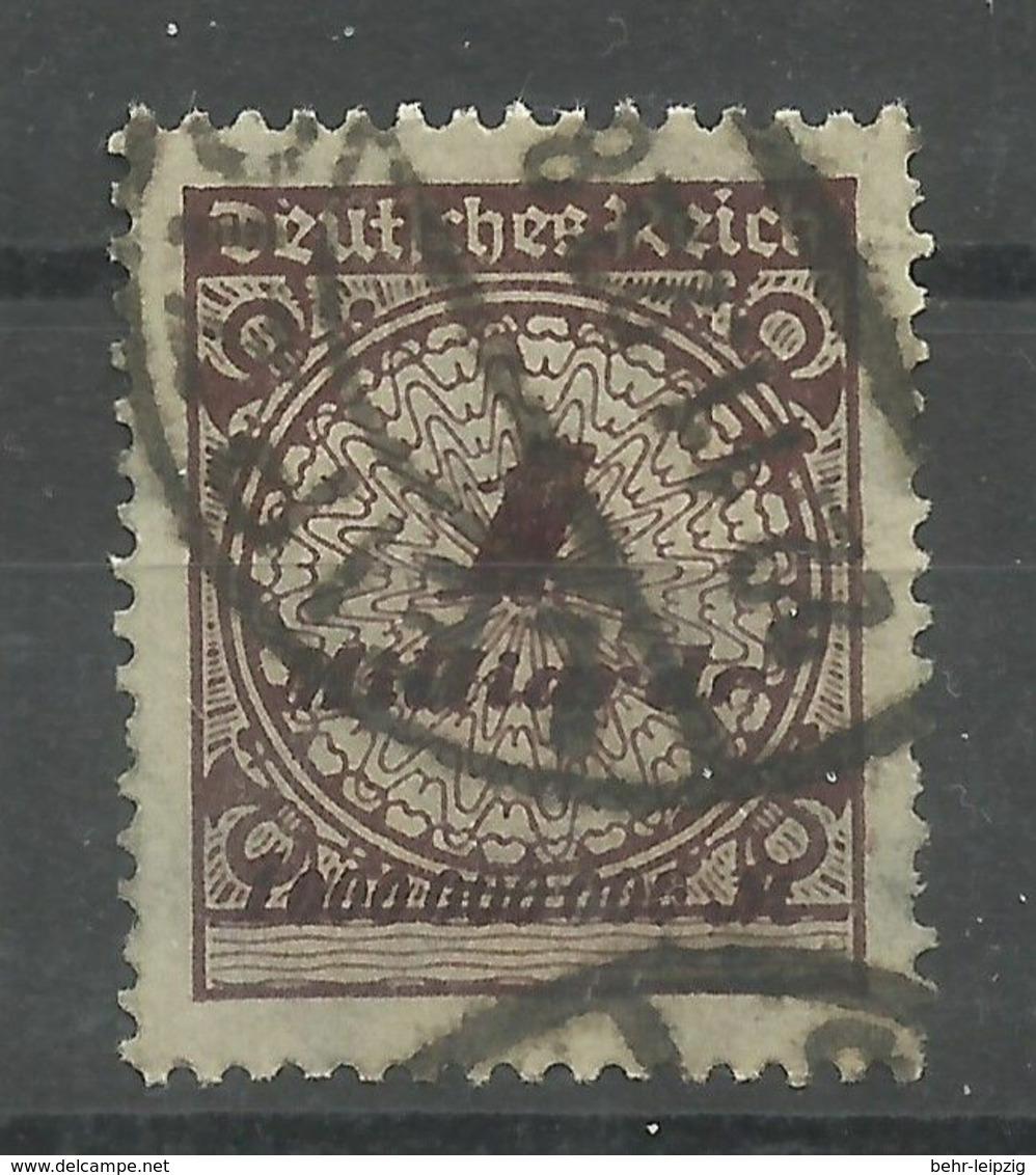 """Deutsches Reich 325AW """"1 Mrd.-Infla-Briefmarke Im Walzendruck """" Gestempelt - Usati"""