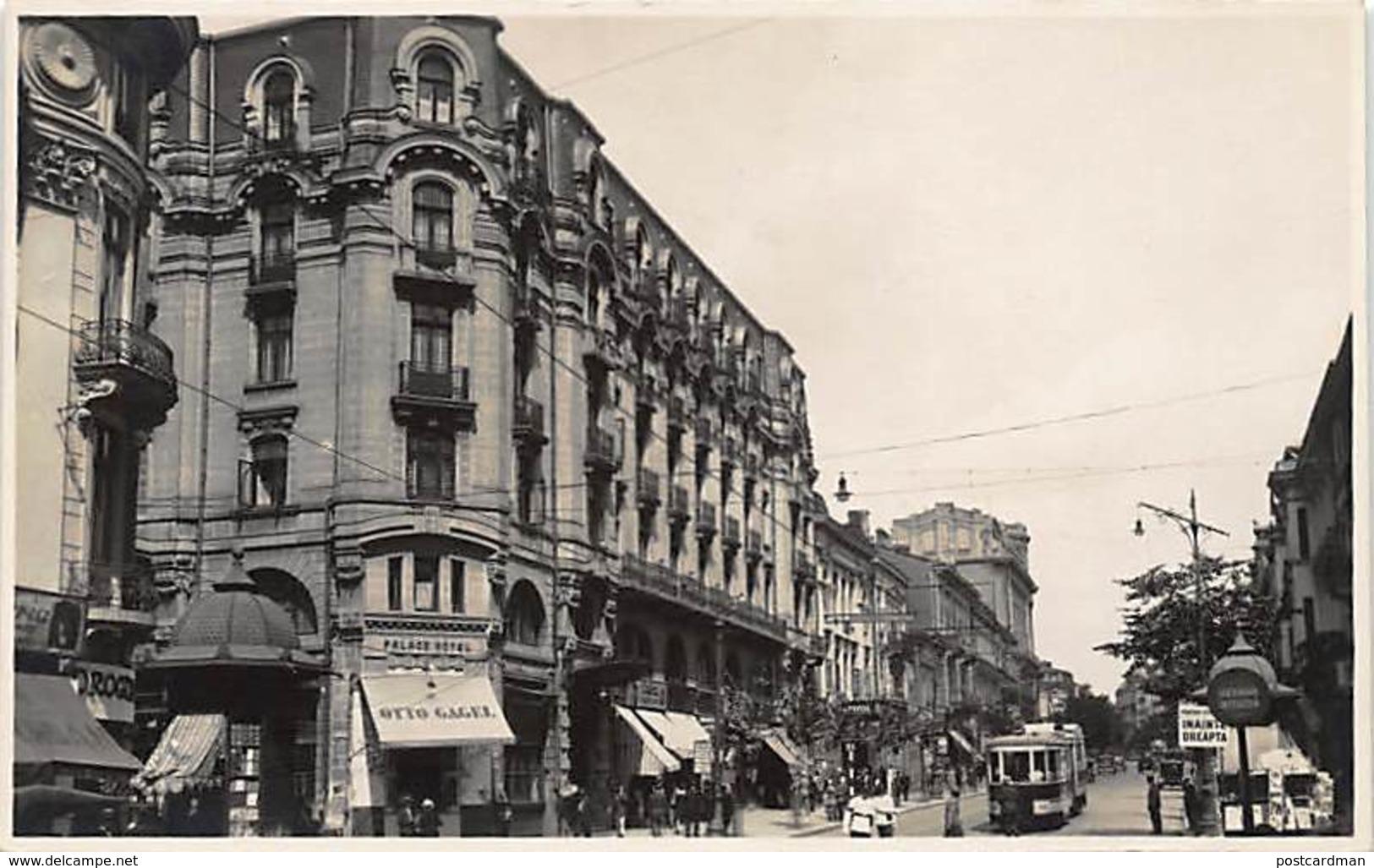 BUCURESTI Bucharest - Bulevardul Elisabeta. REAL PHOTO. - Rumania