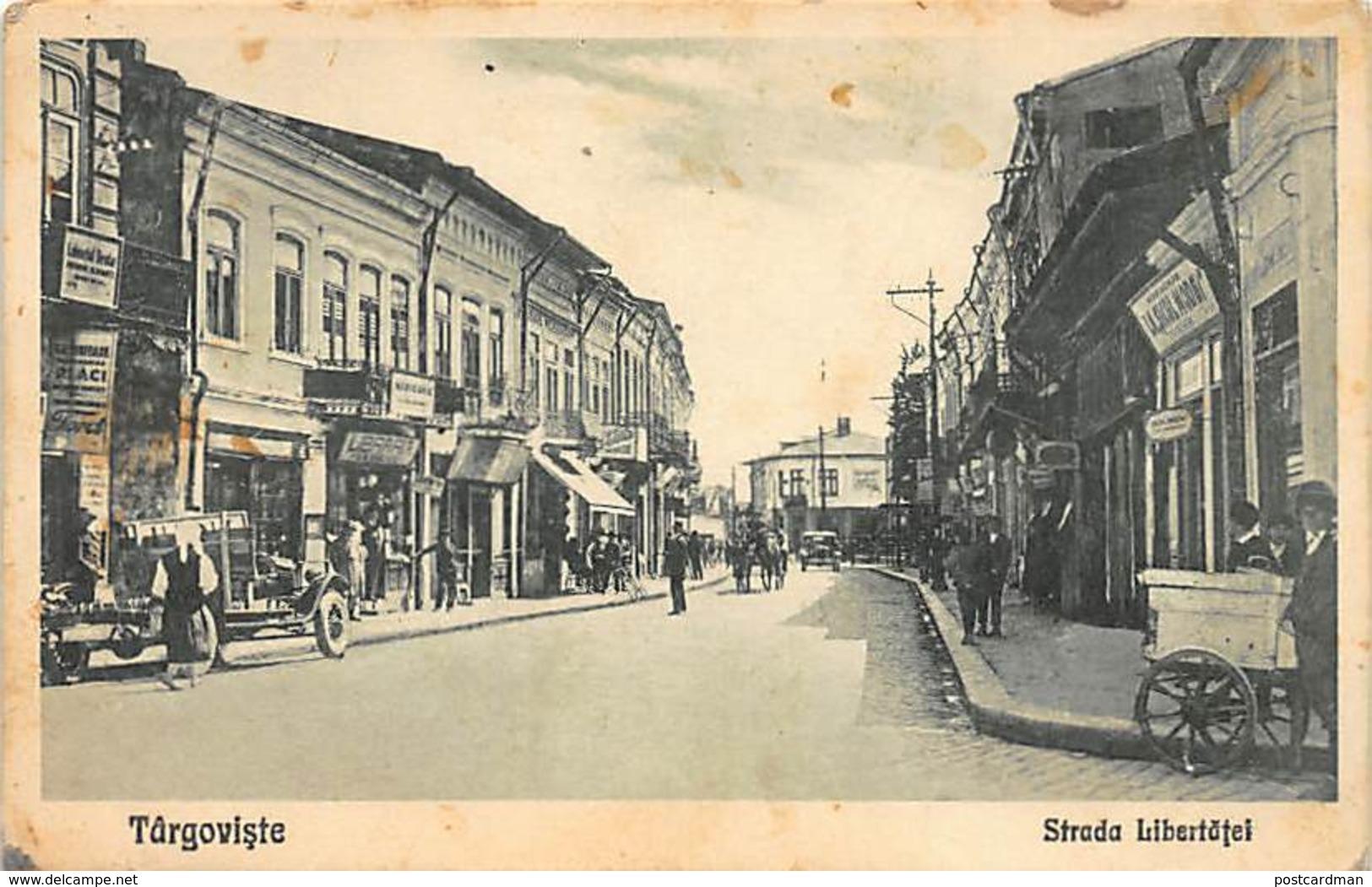 Romania - TARGOVISTE - Strada Libertatei. - Rumania