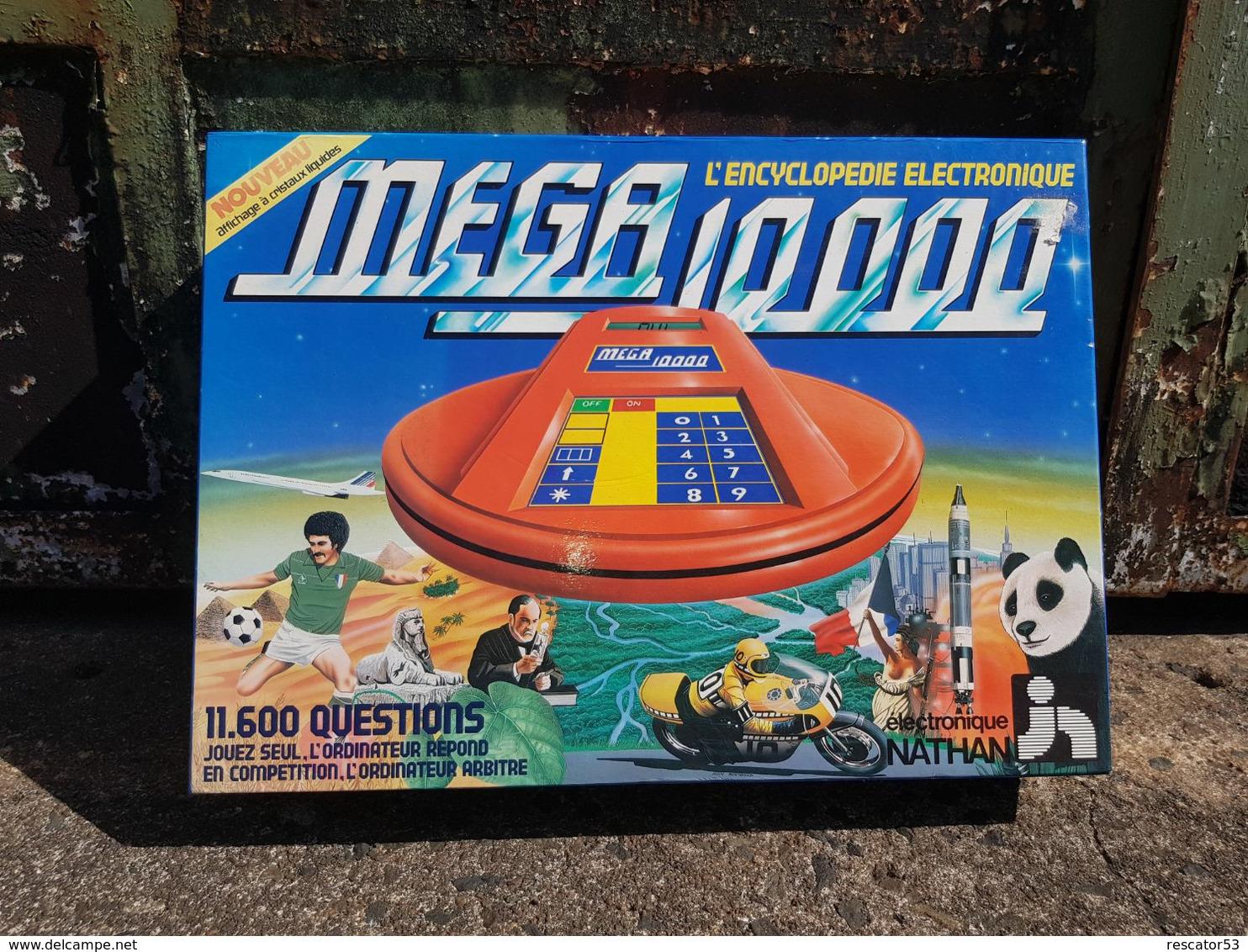 Rare Jeux électronique Années 80 Méga 10000 De Chez Nathan Complet Et En état De Marche - Autres