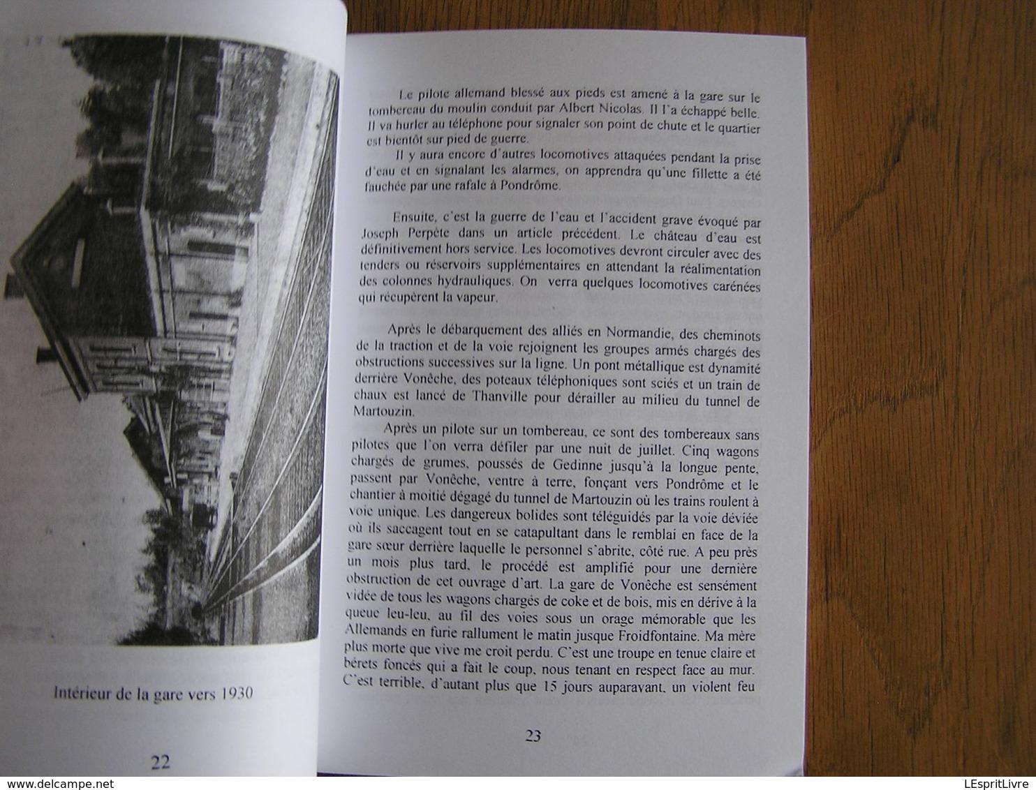 Bulletin CEHG  42 Gedinne Régionalisme Wallon Semoy Gare Vonêche Pompiers Willerzie Rienne 40 45 Cuisinières Lenguillier - Bélgica