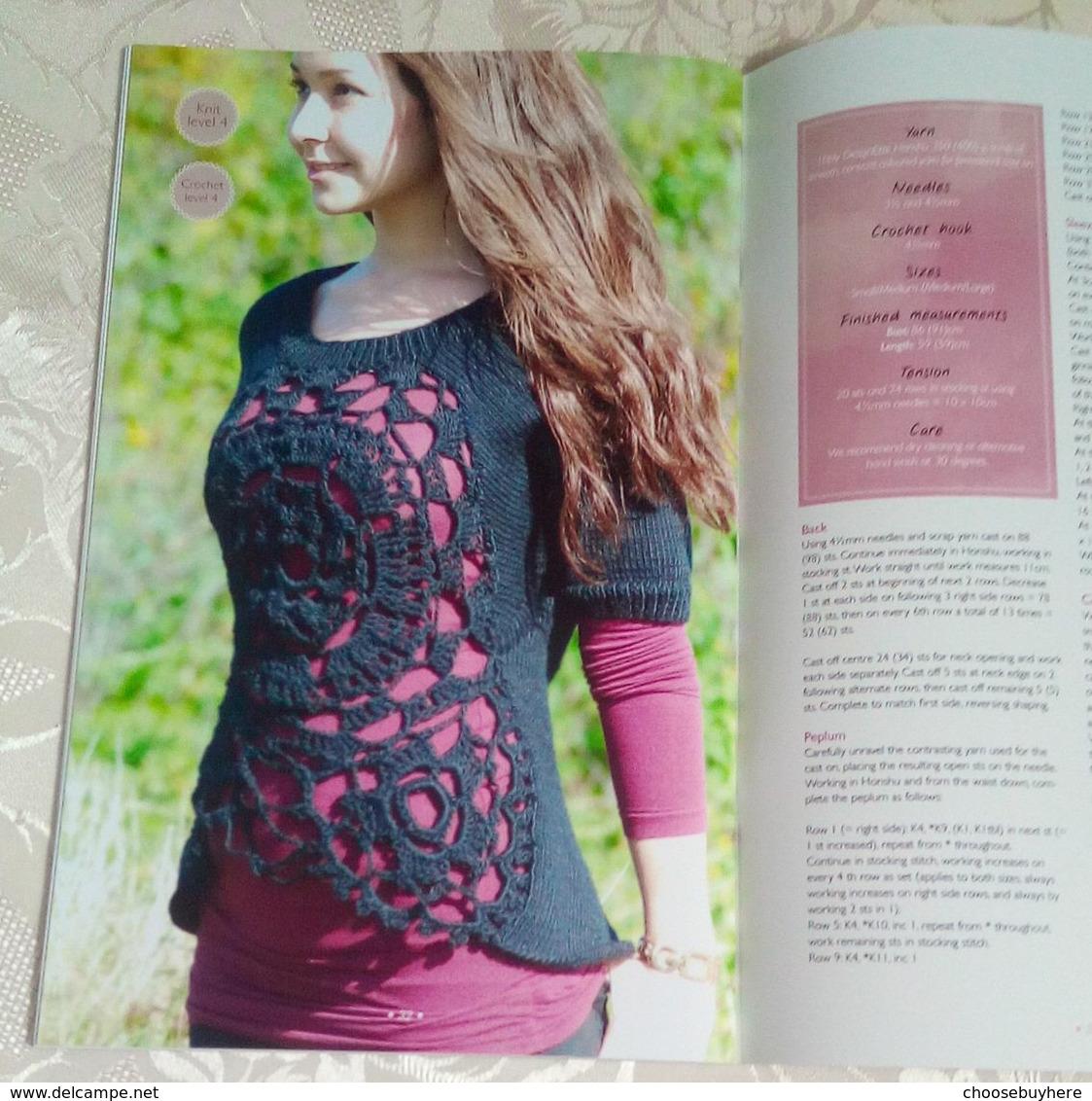 Designette Book Bog 1 Stricken Häkeln Hæklet Og Strikning Crochet And Knitting Anleitungen Patterns Vejledning - Wool