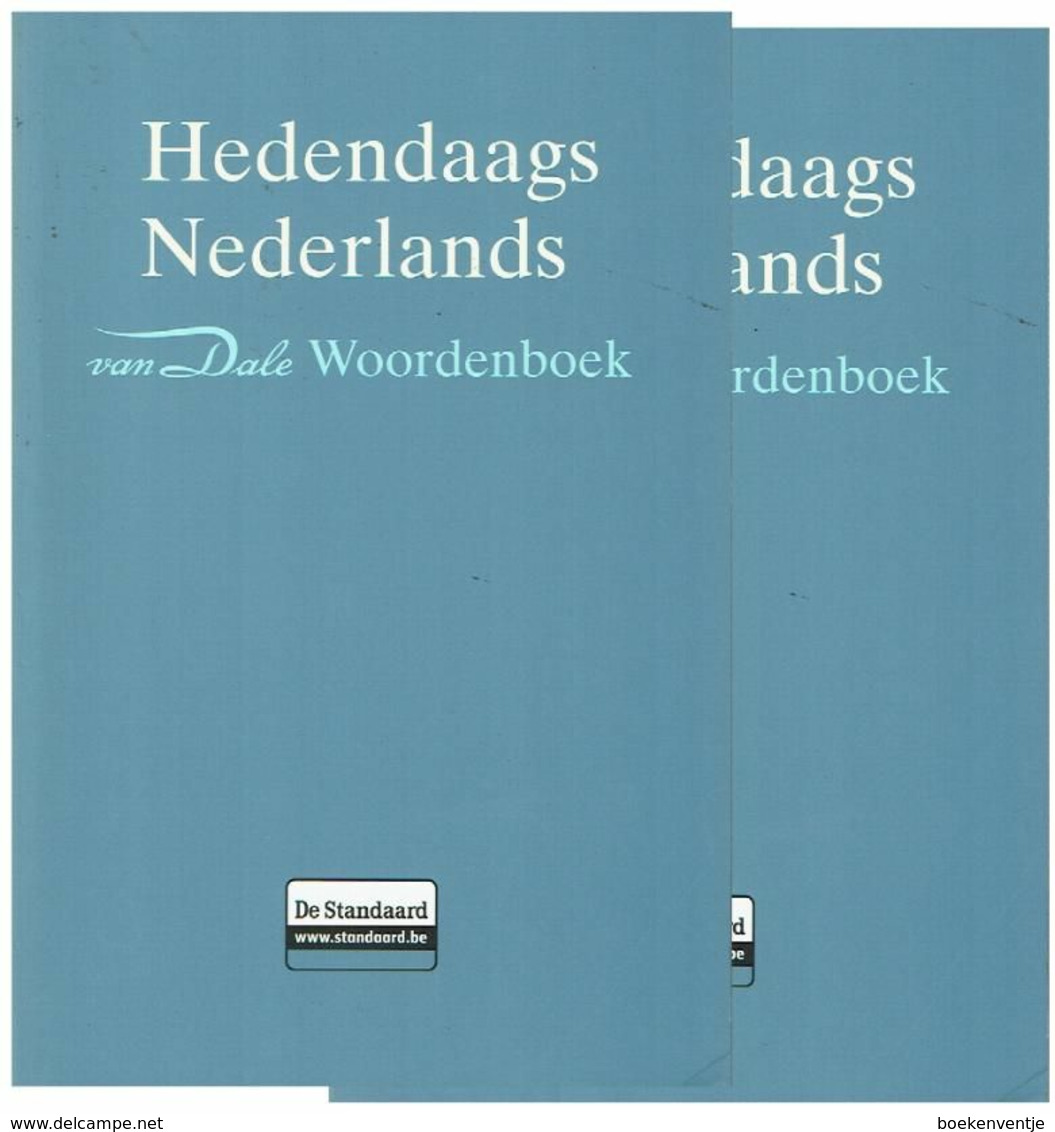 Van Dale Groot Woordenboek Hedendaags Nederlands - Dictionaries