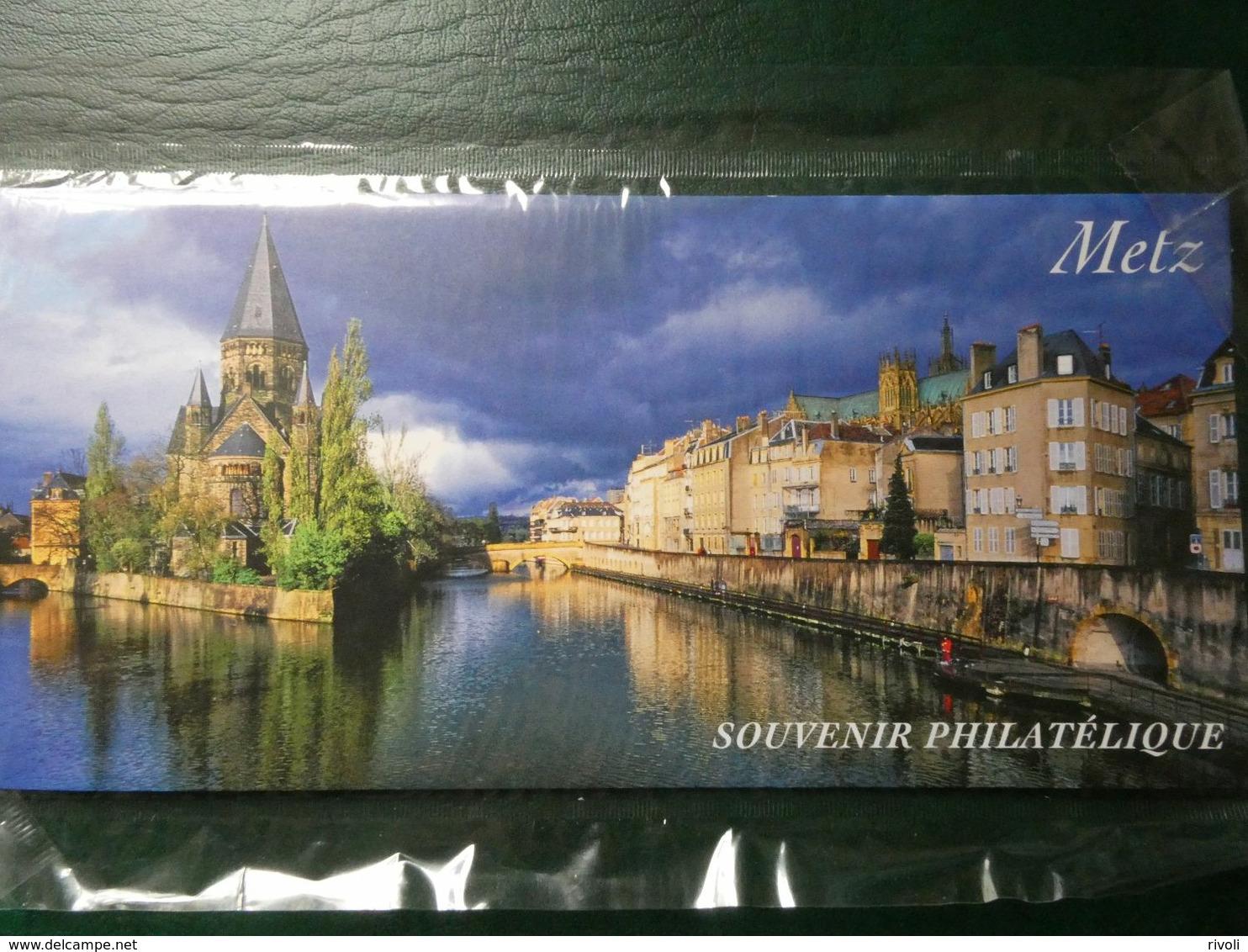 FRANCE 2012-BLOC SOUVENIR N° 75 METZ NEUF ** SOUS BLISTER D'ORIGINE - Foglietti Commemorativi