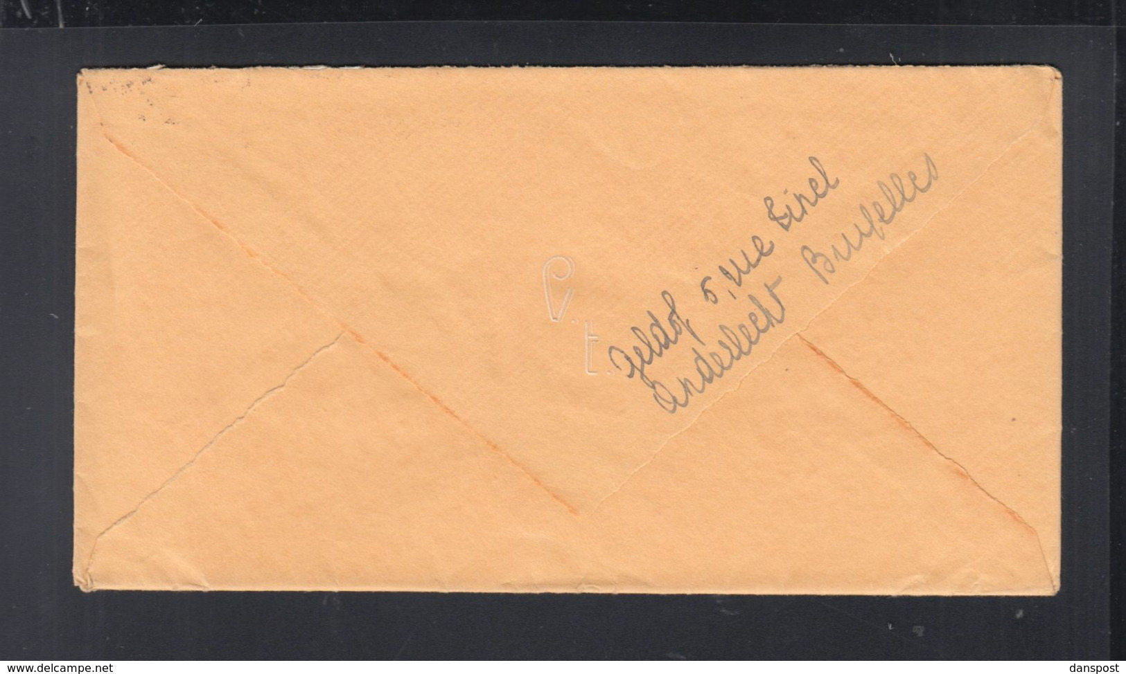 Belgien Brief 1940 Bruxelles Nach Zürich (2) - Belgien