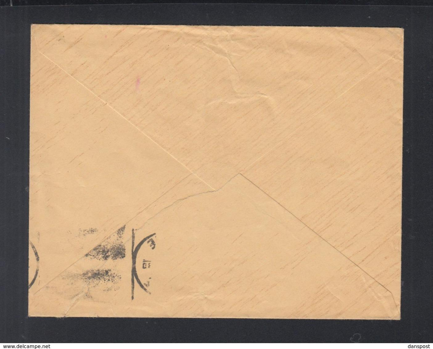 Frankreich France Brief 1941 Paar Aufdrucke - Poststempel (Briefe)