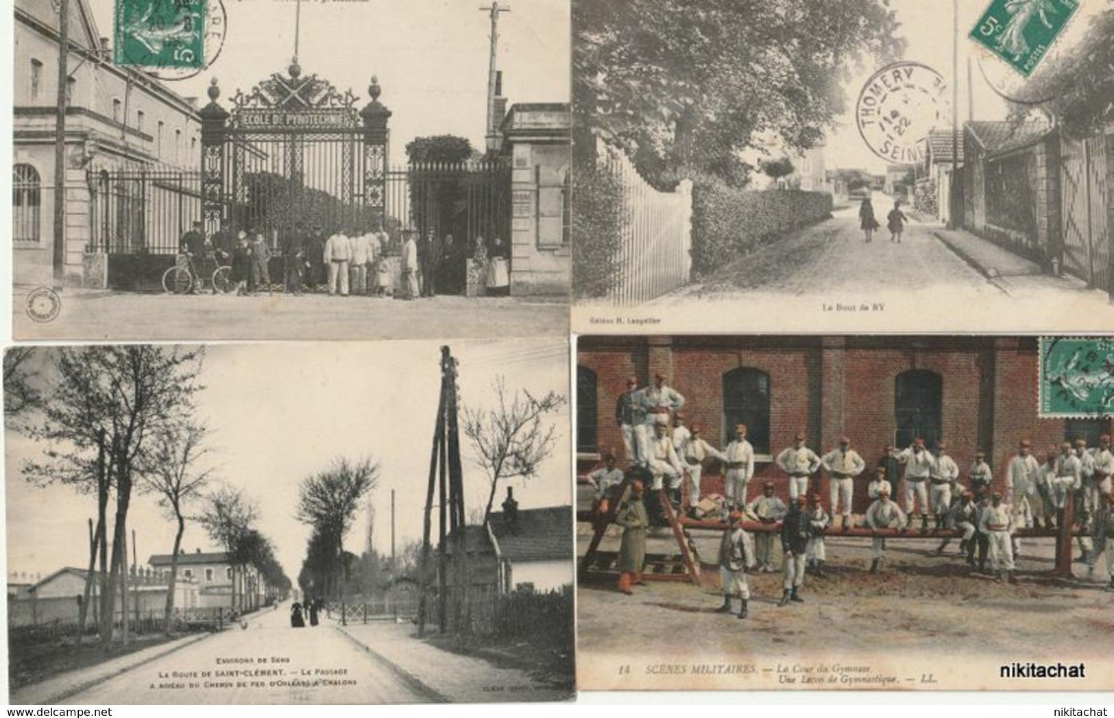 LOT 110 CARTES POSTALES Toutes Scannées à Petit Prix-LOT 3 - 100 - 499 Postcards
