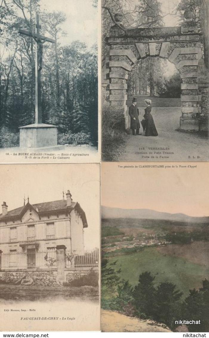 LOT 110 CARTES POSTALES Toutes Scannées à Petit Prix-LOT 3 - Postcards