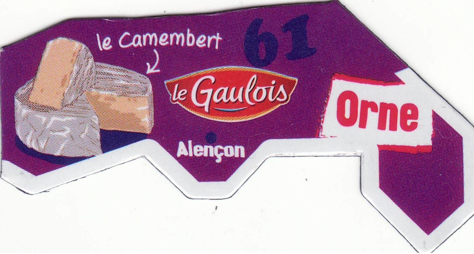 Magnet Le Gaulois Depart'aimant 61 Version 2017 - Magnete