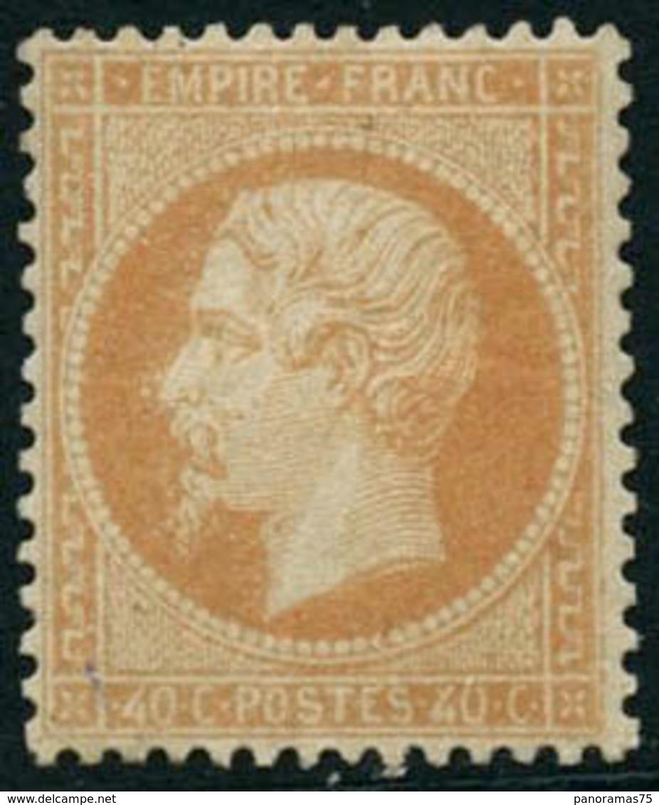 ** N°23 40c Orange, Pièce De Luxe Signé Calves - TB - 1862 Napoleon III
