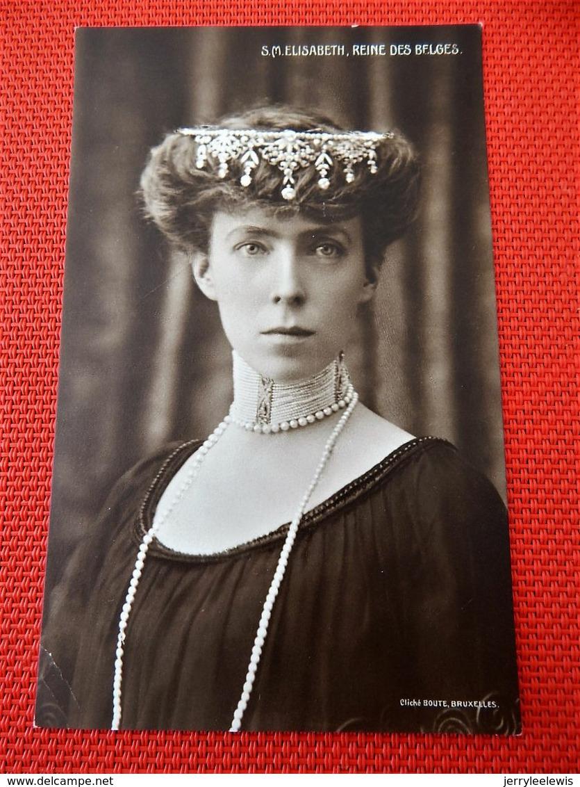S.M.  Elisabeth  Reine Des Belges - Royal Families