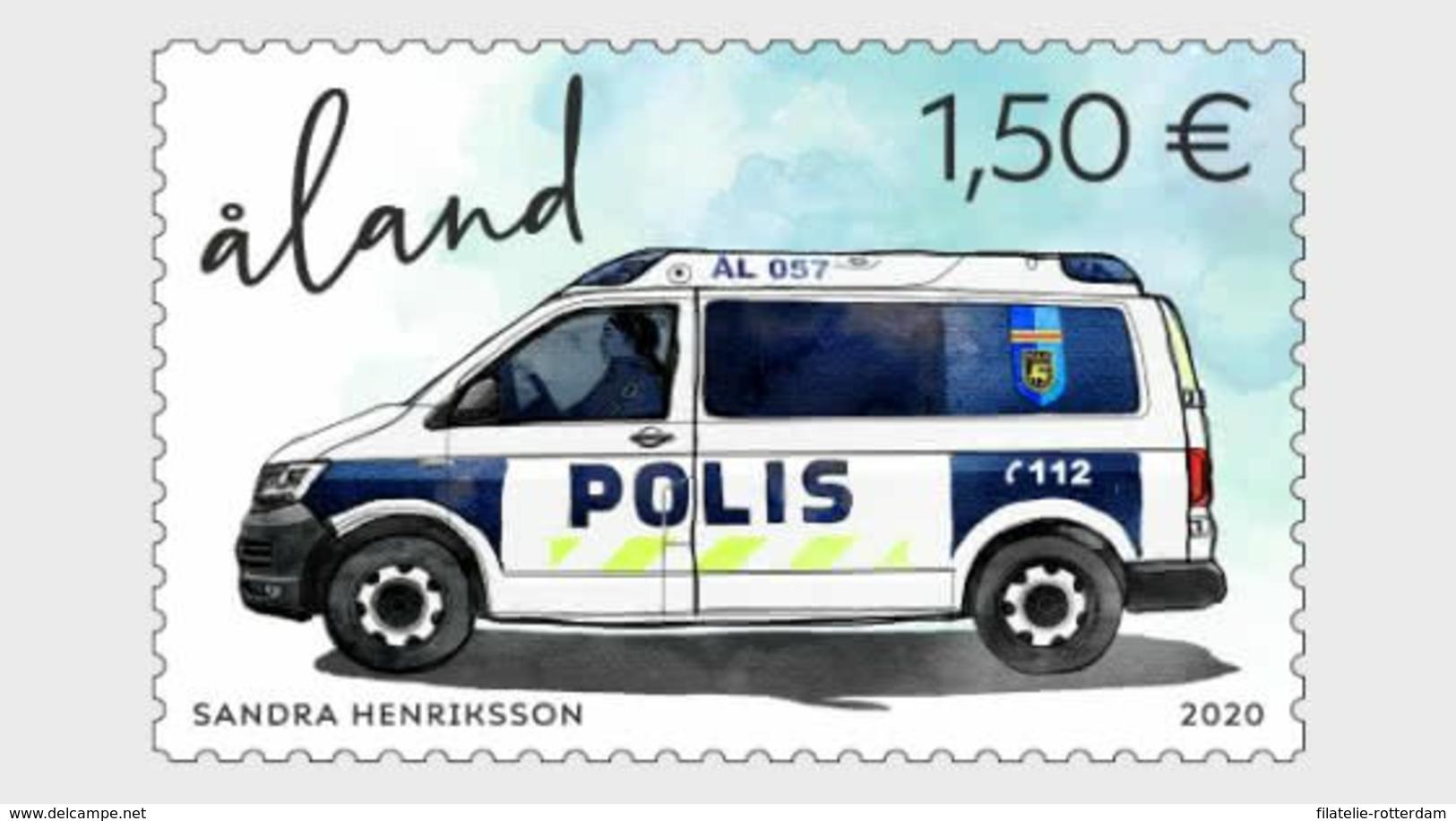 Aland - Postfris / MNH - Politie 2020 - Aland
