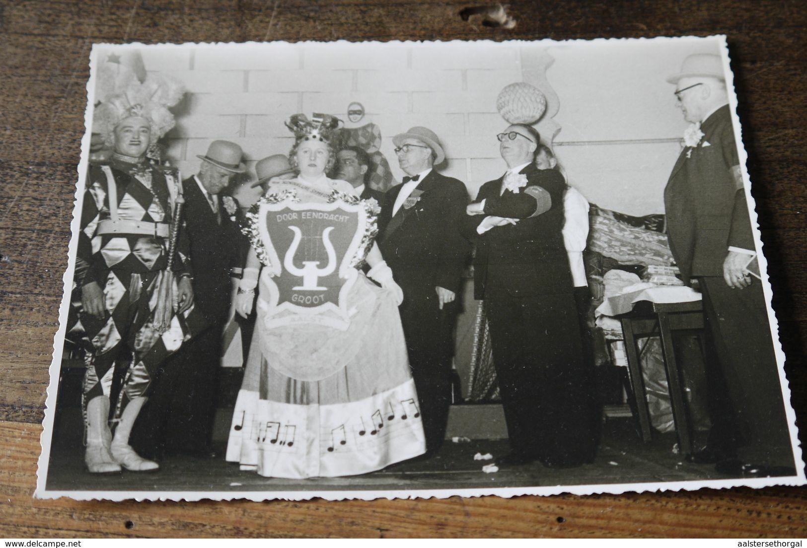 Aalst Carnaval  1956 Prins  Graaf Van Aalst Halfvastenbal Oude Garde Foto - Carnaval