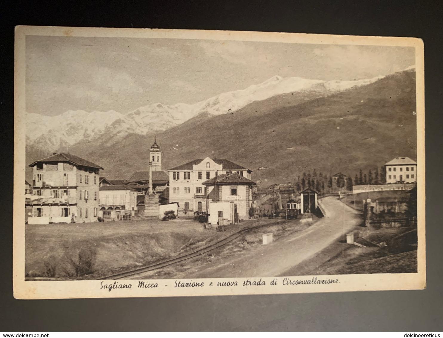 Biella SAGLIANO MICCA Stazione Ferroviaria FP - Biella