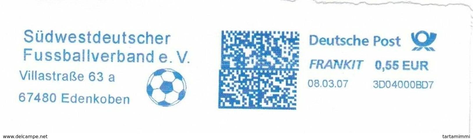 EMA METER STAMP FREISTEMPEL FUSSBALL LIGA CALCIO SOCCER Fútbol FOOTBALL FRANKIT - Sin Clasificación