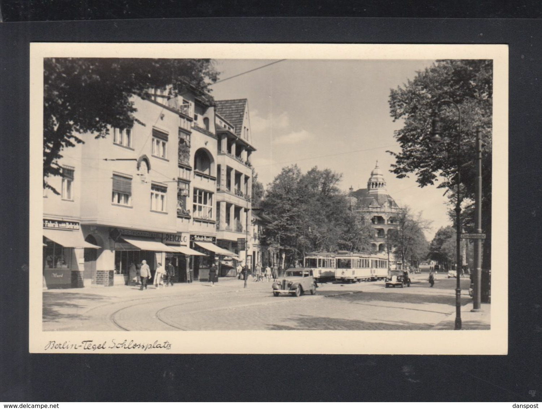 Dt. Reich AK Berlin Tegel Schlossplatz - Tegel