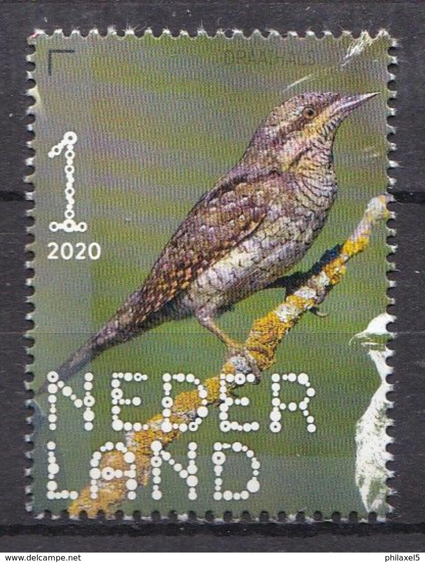 Nederland - 14 September 2020 - Beleef De Natuur - Bos- En Heidevogels - Draaihals - MNH - Specht- & Bartvögel