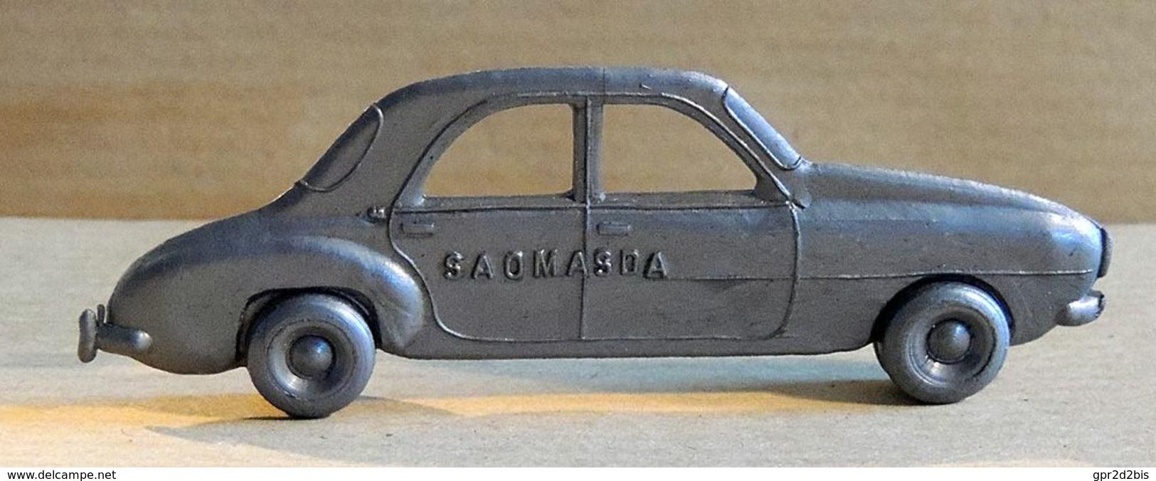 Cadeau Publicitaire - Automobile Française Années 50 - Café MASDA Sao-Paulo - Renault Frégate (Argent) - Other