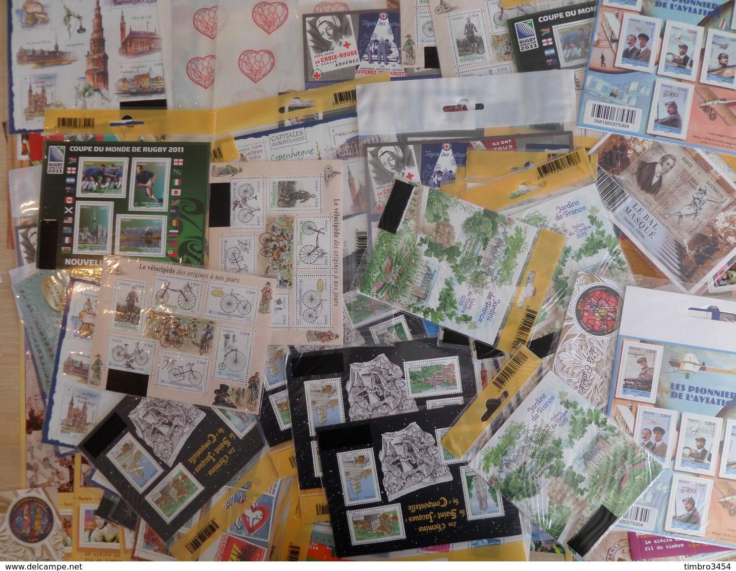 France Superbe Collection/lot De 435 Blocs-feuillets Neufs ** MNH 1975/2015. Magnifique Lot, TB. A Saisir! - Nuevos