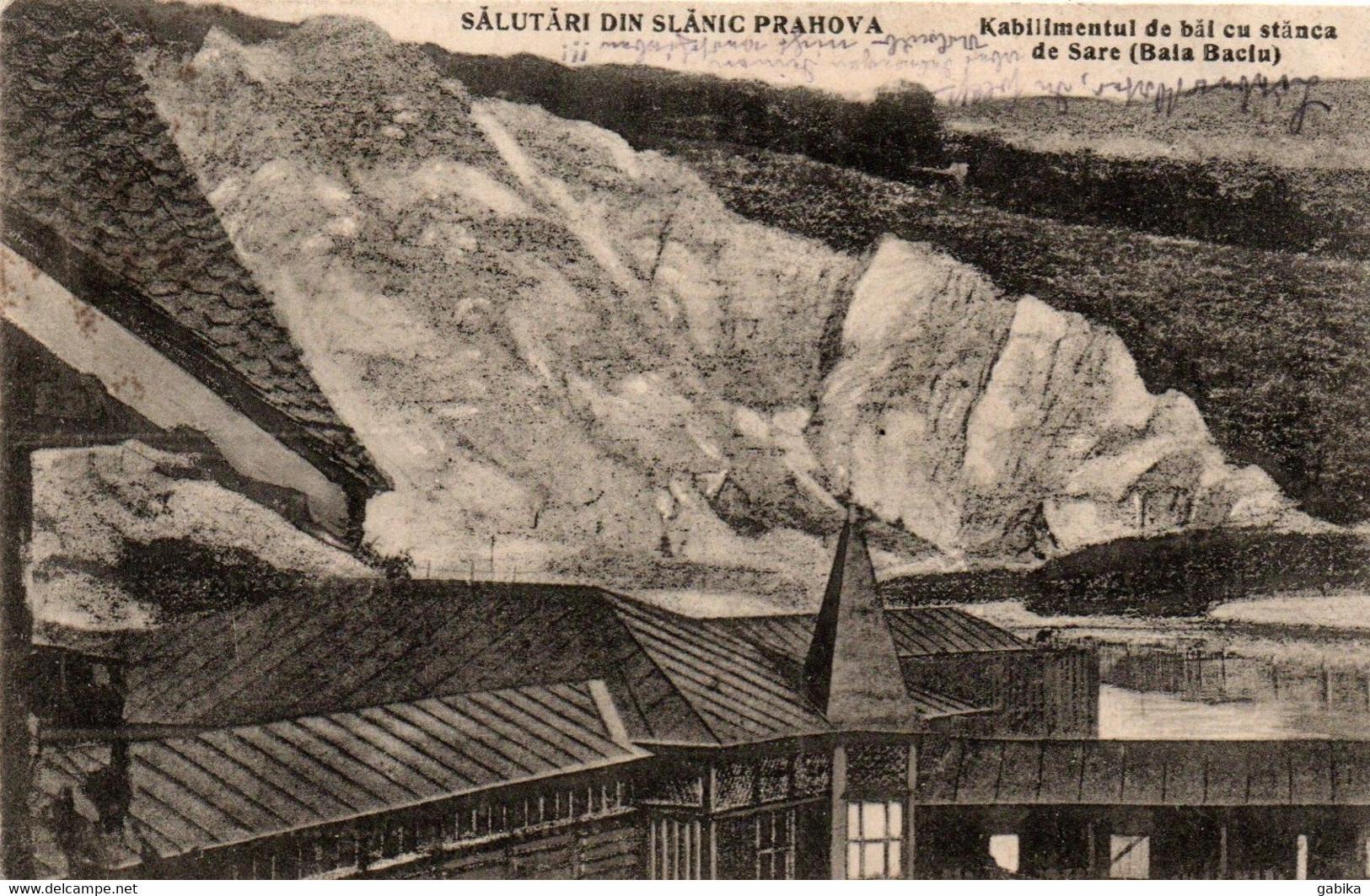 Romania 1924, Slanic Prahova, Baths And Salt Rock - Romania