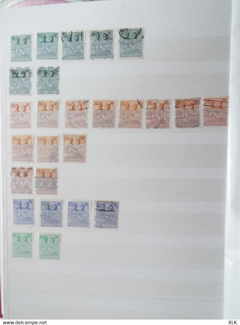 Allemagne - DDR - Bayern - Bundespost - Baden - Saar - Germany
