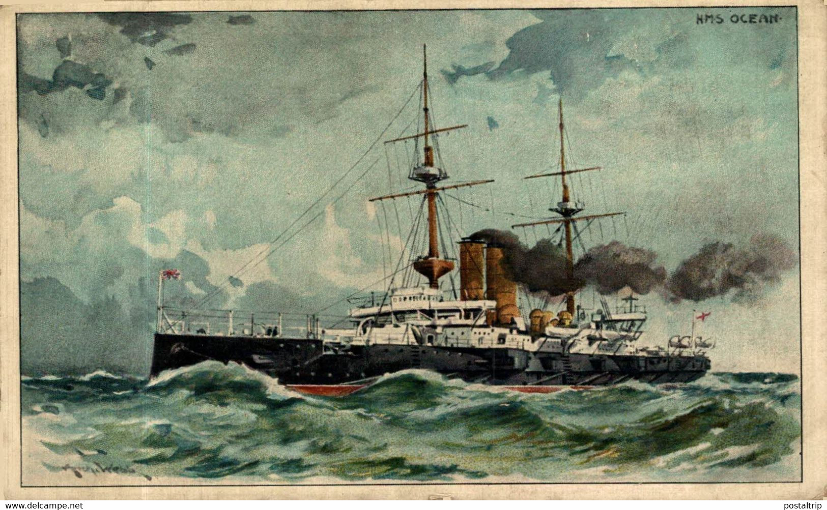 HMS OCEAN - Guerra