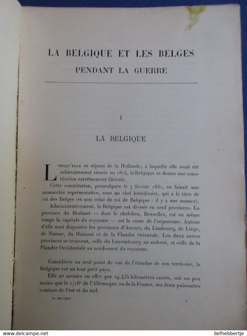 La Belgique Et Les Belges Pendant La Guerre : Dinant - Oostende Nieuwpoort Dikslmuide - Oorlog 1914-18
